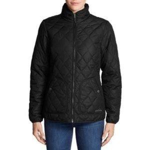 Eddie Bauer Ladies' Quilted Jacket, Black